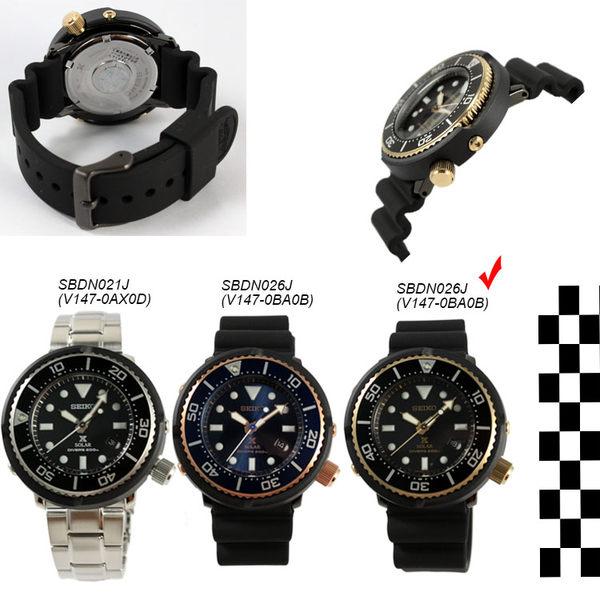 [萬年鐘錶]  SEIKO   PROSPEX DIVER  太陽能  深海200米潛水錶 台灣限量 SBDN028J(V147-0BB0SD)