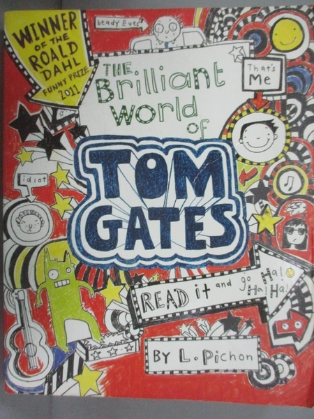 【書寶二手書T5/原文小說_OEJ】Brilliant World of Tom Gates_Liz Pichon, L