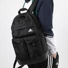 J- adidas CL 3D POCKETS 背包 後背包 休閒 多拉鍊口袋 筆電 黑 男女 FM6894