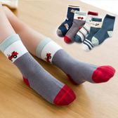 兒童襪子妙優童兒童襪子18年秋冬厚款棉襪寶寶中筒襪男女童1-12歲童襪5雙 喵小姐