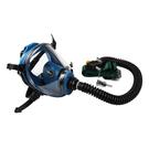 【醫碩科技】SPASCIANI 義大利原裝進口送風式全面罩防毒面具 伸縮管調節器 連接空壓機 免運費 TR-85