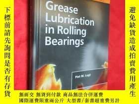 二手書博民逛書店Grease罕見Lubrication in Rolling B