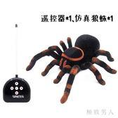嚇人玩具紅外線惡搞遙控蜘蛛電動爬行狼蛛仿真整人整蠱玩具 XW4141【極致男人】