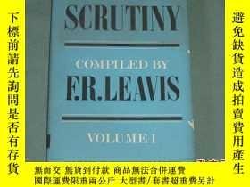 二手書博民逛書店A罕見Selection from Scrutiny, Volu