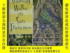 二手書博民逛書店Stairway罕見Walks in San Francisco