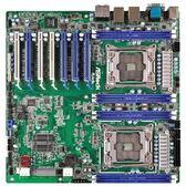 【綠蔭-免運】ASRockRack永擎EP2C612WS伺服器主機板