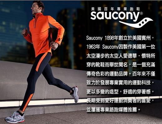 [陽光樂活]Saucony索康尼-(女) BULLET CAPRI 多功能慢跑褲-SY81502-BKWH