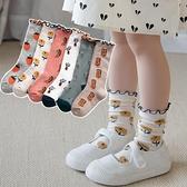 襪子兒童寶寶松口長筒襪子全棉女孩公主堆堆襪潮學院男女童中筒純棉襪童趣屋