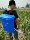 施肥器農用追肥器多功能手動撒肥機玉米蔬菜顆粒溜肥器工具化肥機『新佰數位屋』