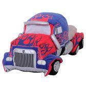 機器人玩具汽車模型變形金剛擎天柱汽車人毛絨玩具  zr417『小美日記』