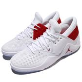 Nike 休閒鞋 Jordan Flight Fresh 白 紅 低筒 喬丹 多功能 運動鞋 男鞋【PUMP306】 AA2501-100