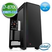 技嘉B360平台【戰禍始帝】i7六核 RTX2080Ti-11G獨顯 SSD 240G效能電腦