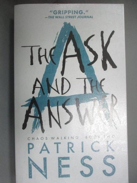 【書寶二手書T1/原文小說_HHG】The Ask and the Answer_Ness, Patrick