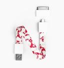 【愛瘋潮】Mohzy 時尚 環型 Micro USB 傳輸線 (附30PIN轉接頭) KITTY 限量版 聖誕節交換禮物