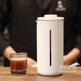 法式濾壓壺 小U法壓壺 法式家用耐熱玻璃咖啡機 手沖過濾咖啡器具 450ML-三山一舍