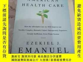 二手書博民逛書店REINVENTING罕見AMERICAN HEALTH CARE【看圖】Y185017 REINVENTIN