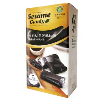 綠源寶~何首烏黑芝麻軟糖500公克/盒