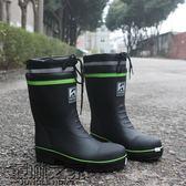 男雨鞋中筒防滑防水橡膠春夏透氣雨靴