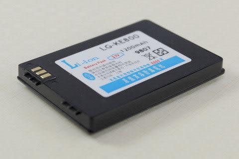CALLS/其他廠牌 防爆高容量 手機電池 1100mah LG  KE800