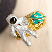 〔APM飾品〕日本Gargle 浩瀚星殞宇宙飛行員戒指