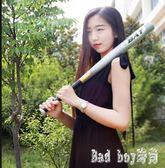 棒球棍車載防身武器加硬鐵棒子加厚壘球冷合金鋼家用棒球棒桿 QQ14621『bad boy時尚』