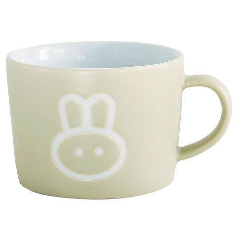 日本PETITS ET MAMAN 兒童用兔子馬克杯