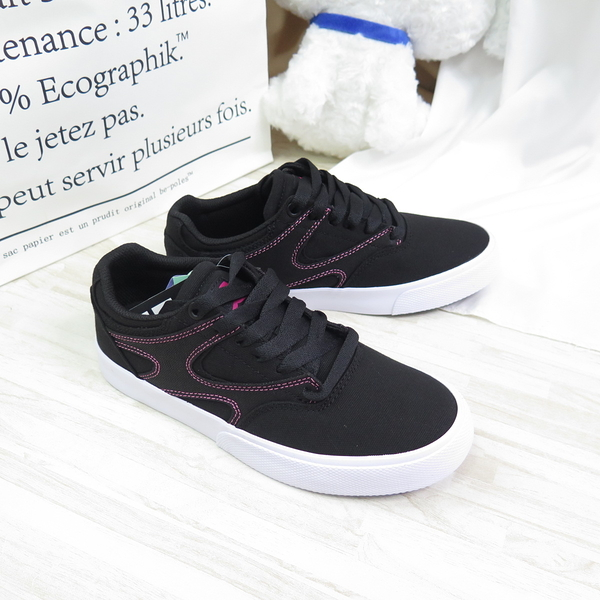 DC SHOES KALIS VULC 休閒鞋 滑板鞋 女款 300252BBP 黑【iSport愛運動】