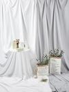 拍照背景布白色大尺寸ins掛布白布