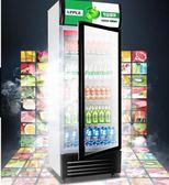 睿美展示櫃冷藏櫃立式商用雙門冰櫃冰箱啤酒超市水果保鮮櫃飲料櫃 220V QM 依凡卡時尚