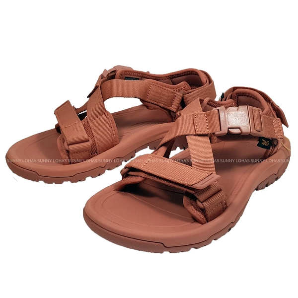(C3) TEVA 女 Hurricane Verge 女 綁帶涼鞋 機能運動涼鞋 磚紅色 TV1121535ARGN