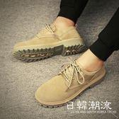 馬丁鞋  冬季男士馬丁靴男高幫男鞋雪地加絨棉鞋中幫靴子工裝鞋英倫軍靴潮