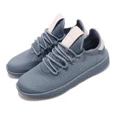【海外限定】 adidas 休閒鞋 PW Tennis HU W 藍 女鞋 菲董【PUMP306】 B41888