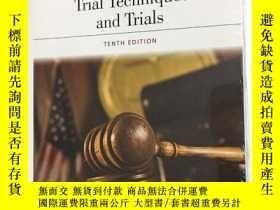 二手書博民逛書店Trial罕見Techniques and Trials, Tenth Edition 審判技術和審判,第十版 法