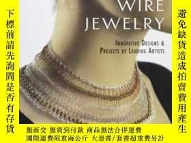 二手書博民逛書店Crocheted罕見Wire JewelryY364682 Arline Fisch Lark Books