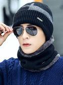 男冬天毛線帽加厚保暖針織帽套包頭冷帽—聖誕交換禮物