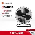TATUNG大同 18吋工業扇 TF-N18G 4段3速 台灣製造