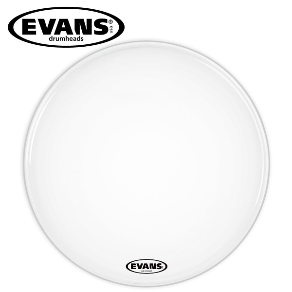 小叮噹的店- 大鼓鼓皮 22吋 白色油面   EVANS EQ3 系列  BD22RSW