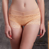 La Queen 典雅蕾絲全蠶絲內褲(7330 膚)