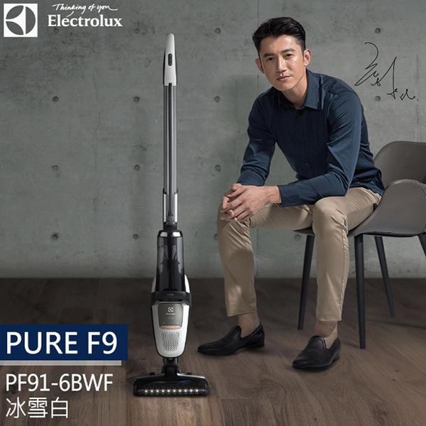 (獨家送32L烤箱) 伊萊克斯Electrolux Pure F9 滑移百變吸塵器 PF91-6BWF (冰雪白)