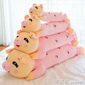 毛絨玩具豬公仔毛絨玩具可愛睡覺抱枕賴人玩偶女生韓國大號布娃娃超萌女孩MKS 瑪麗蘇
