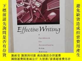 二手書博民逛書店Effective罕見Writing: A Handbook for Accountants (5th Editi