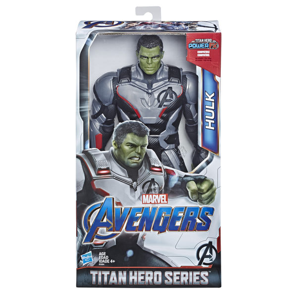 MARVAL漫威超級英雄 復仇者聯盟4 終局之戰 12吋泰坦英雄人物組 綠巨人浩克 TOYeGO 玩具e哥