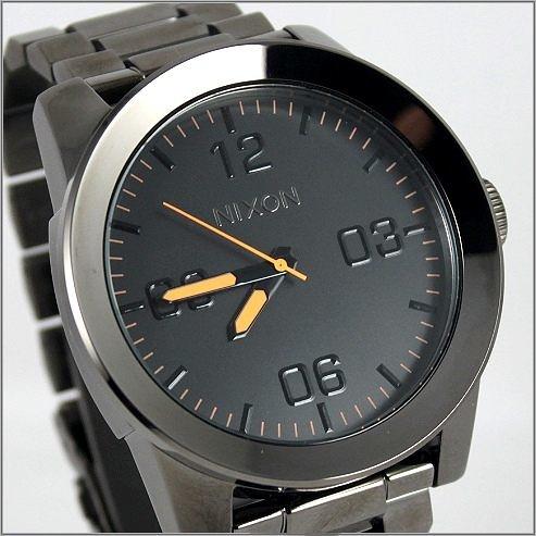 【萬年鐘錶】NIXON 加州 The Corporal NXA3461235