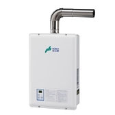 [家事達] H-1385  豪山牌  強制排氣型熱水器-13L 特價