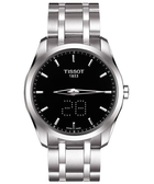 TISSOT 天梭 Couturier 系列 Date時尚手錶-黑 T0354461105100