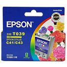EPSON㊣原廠墨水T039 彩色 適用EPSON印表機型號 ST-C41UX/C43UX/C45/CX1500