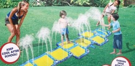 [協貿國際]  趣味運動會遊戲活動道具戶外噴水跳格子 (1入)