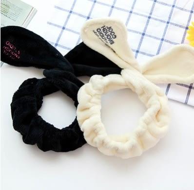 預購-韓國可愛兔子耳朵洗臉髮圈髮帶頭飾