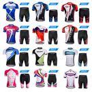 騎行服男女夏季山地車短袖套裝自行車上衣騎行褲服裝