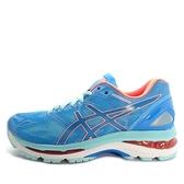 Asics Gel-Nimbus 19 [T750N-4306] 女鞋 運動 慢跑 健走 休閒 緩衝 亞瑟士 藍 橘